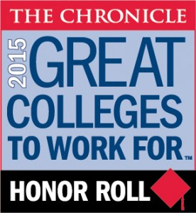 The Chronicle Honor Roll 2015 - Great Colleges To Work For