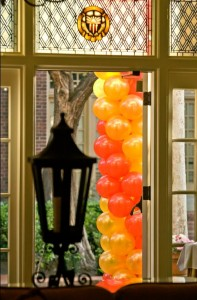 stained glass balloons