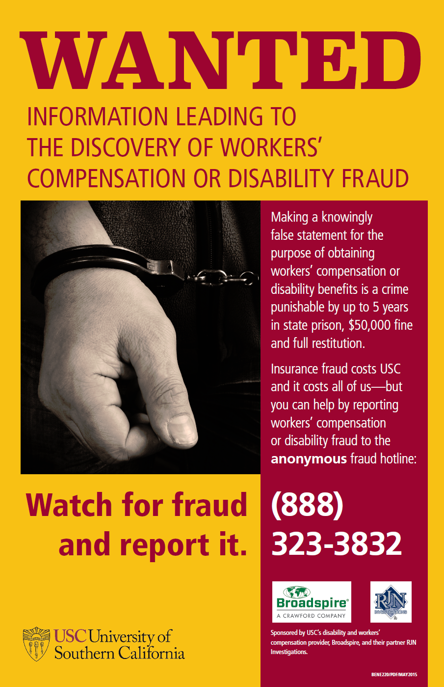 workers compensation fraud Seven of the top ten cases in 2017 are from california, two from texas, and one  from tennessee (ca) 10 attorneys, 6 others charged by oc.